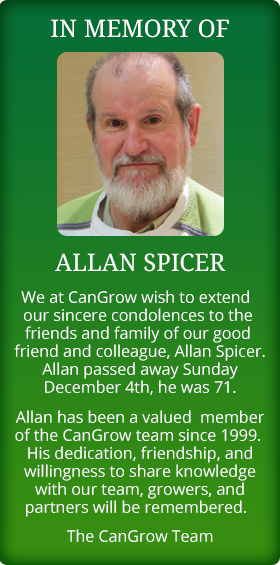 In Memory of Allan Spicer
