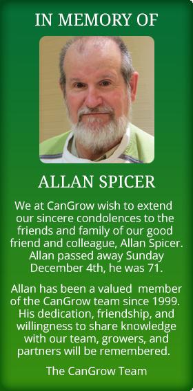 In Memory of Allan Spicer